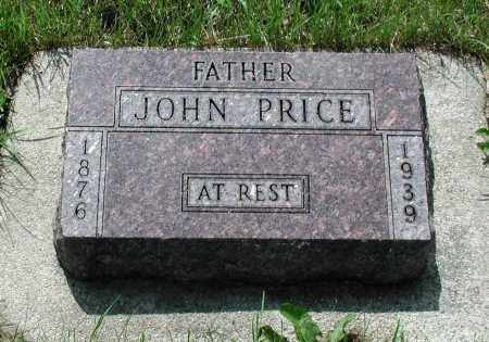 PRICE, JOHN - Union County, South Dakota | JOHN PRICE - South Dakota Gravestone Photos