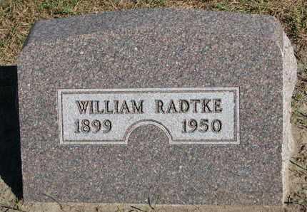 RADTKE, WILLIAM - Union County, South Dakota | WILLIAM RADTKE - South Dakota Gravestone Photos