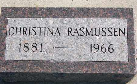 RASMUSSEN, CHRISTINA - Union County, South Dakota | CHRISTINA RASMUSSEN - South Dakota Gravestone Photos