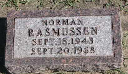 RASMUSSEN, NORMAN - Union County, South Dakota | NORMAN RASMUSSEN - South Dakota Gravestone Photos