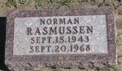 RASMUSSEN, NORMAN - Union County, South Dakota   NORMAN RASMUSSEN - South Dakota Gravestone Photos