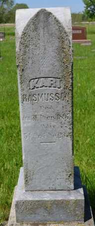 RASMUSSON, KARI - Union County, South Dakota   KARI RASMUSSON - South Dakota Gravestone Photos