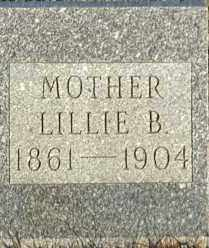 REAMES, LILLIE B - Union County, South Dakota | LILLIE B REAMES - South Dakota Gravestone Photos