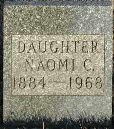REAMES, NAOMI C. - Union County, South Dakota | NAOMI C. REAMES - South Dakota Gravestone Photos