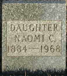 REAMES, NAOMI C. - Union County, South Dakota | NAOMI C. REAMES - South Dakota Gravestone Photos
