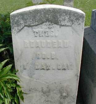 REAUDEAU, THOMAS - Union County, South Dakota   THOMAS REAUDEAU - South Dakota Gravestone Photos