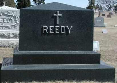 REEDY, PLOT - Union County, South Dakota   PLOT REEDY - South Dakota Gravestone Photos