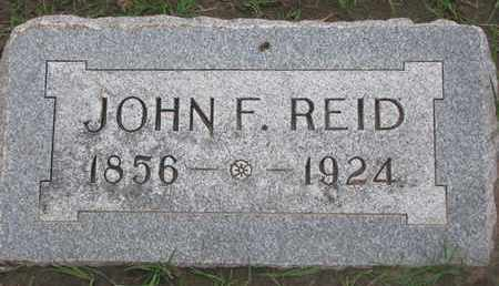 REID, JOHN F. - Union County, South Dakota | JOHN F. REID - South Dakota Gravestone Photos