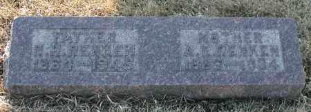 RENKEN, A. K. - Union County, South Dakota | A. K. RENKEN - South Dakota Gravestone Photos