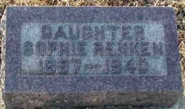 RENKEN, SOPHIE - Union County, South Dakota | SOPHIE RENKEN - South Dakota Gravestone Photos