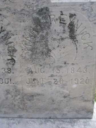 REYNICK, MARY (CLOSEUP) - Union County, South Dakota | MARY (CLOSEUP) REYNICK - South Dakota Gravestone Photos