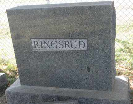 RINGSRUD, FAMILY STONE - Union County, South Dakota | FAMILY STONE RINGSRUD - South Dakota Gravestone Photos