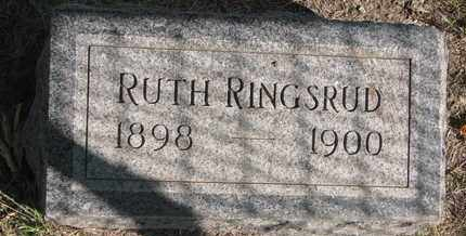 RINGSRUD, RUTH - Union County, South Dakota | RUTH RINGSRUD - South Dakota Gravestone Photos