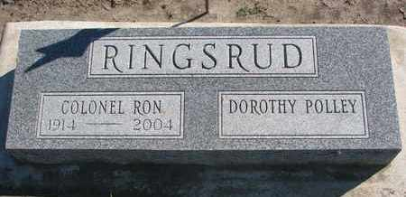 RINGSRUD, RON (MILITARY) - Union County, South Dakota | RON (MILITARY) RINGSRUD - South Dakota Gravestone Photos