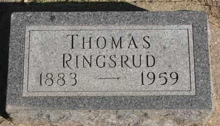 RINGSRUD, THOMAS - Union County, South Dakota | THOMAS RINGSRUD - South Dakota Gravestone Photos