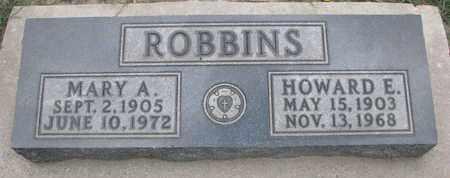 ROBBINS, MARY A. - Union County, South Dakota   MARY A. ROBBINS - South Dakota Gravestone Photos