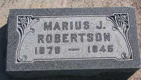 ROBERTSON, MARIUS J. - Union County, South Dakota | MARIUS J. ROBERTSON - South Dakota Gravestone Photos