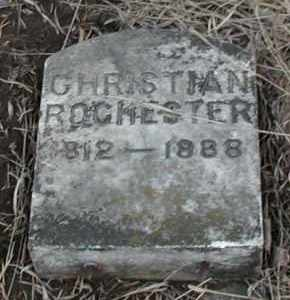 ROCHESTER, CHRISTIAN - Union County, South Dakota | CHRISTIAN ROCHESTER - South Dakota Gravestone Photos