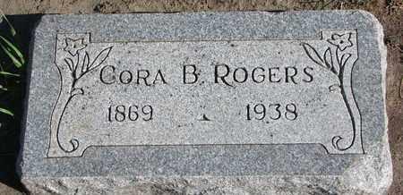 ROGERS, CORA B. - Union County, South Dakota   CORA B. ROGERS - South Dakota Gravestone Photos