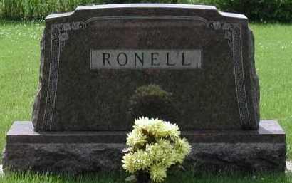 RONELL, *PLOT - Union County, South Dakota   *PLOT RONELL - South Dakota Gravestone Photos