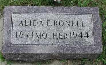 RONELL, ALIDA E. - Union County, South Dakota | ALIDA E. RONELL - South Dakota Gravestone Photos