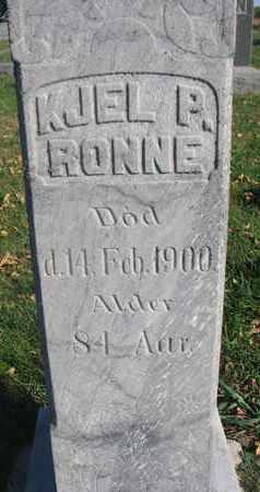 RONNE, KJEL P. (CLOSEUP) - Union County, South Dakota | KJEL P. (CLOSEUP) RONNE - South Dakota Gravestone Photos