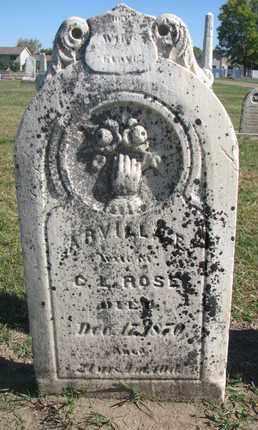 ROSE, ARVILLA E. - Union County, South Dakota | ARVILLA E. ROSE - South Dakota Gravestone Photos