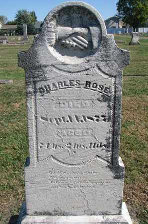 ROSE, CHARLES - Union County, South Dakota | CHARLES ROSE - South Dakota Gravestone Photos