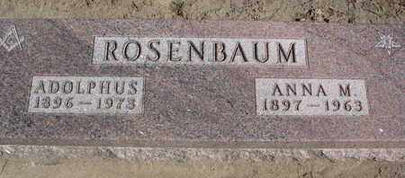 ROSENBAUM, ADOLPHUS - Union County, South Dakota | ADOLPHUS ROSENBAUM - South Dakota Gravestone Photos
