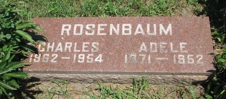 ROSENBAUM, ADELE - Union County, South Dakota | ADELE ROSENBAUM - South Dakota Gravestone Photos