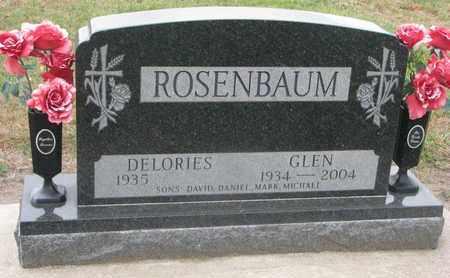 ROSENBAUM, DELORIES - Union County, South Dakota | DELORIES ROSENBAUM - South Dakota Gravestone Photos