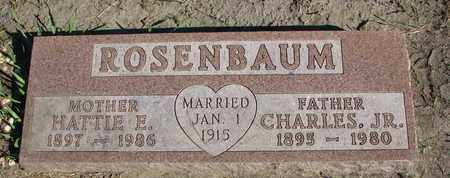 ROSENBAUM, HATTIE E. - Union County, South Dakota | HATTIE E. ROSENBAUM - South Dakota Gravestone Photos