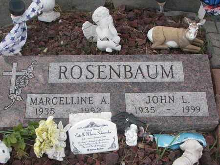 ROSENBAUM, JOHN L. - Union County, South Dakota | JOHN L. ROSENBAUM - South Dakota Gravestone Photos