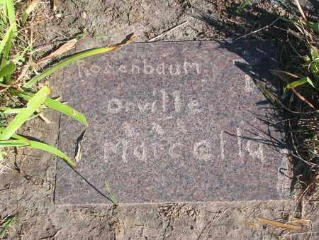 ROSENBAUM, MARCELLA - Union County, South Dakota | MARCELLA ROSENBAUM - South Dakota Gravestone Photos