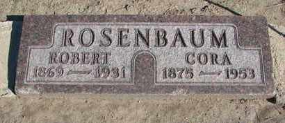 ROSENBAUM, ROBERT - Union County, South Dakota | ROBERT ROSENBAUM - South Dakota Gravestone Photos