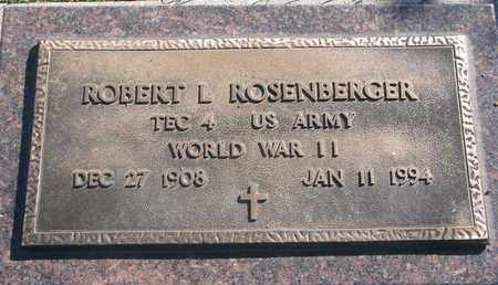 ROSENBERGER, ROBERT L. (WORLD WAR II) - Union County, South Dakota | ROBERT L. (WORLD WAR II) ROSENBERGER - South Dakota Gravestone Photos