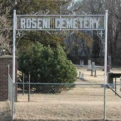 *ROSENI, GATE - Union County, South Dakota | GATE *ROSENI - South Dakota Gravestone Photos