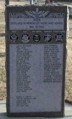 ***ROSENI, SERVICE MEMORIAL - Union County, South Dakota | SERVICE MEMORIAL ***ROSENI - South Dakota Gravestone Photos