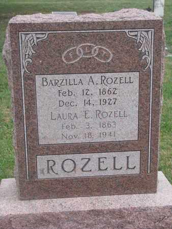 ROZELL, BARZILLA A. - Union County, South Dakota | BARZILLA A. ROZELL - South Dakota Gravestone Photos