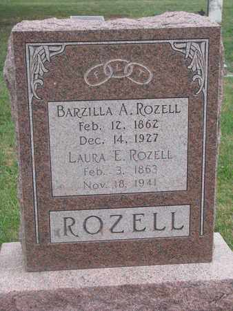 ROZELL, BARZILLA A. - Union County, South Dakota | BARZILLA A. ROZELL - South Dakota Gravestone Photos