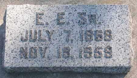 ROZELL, E.E. SR. - Union County, South Dakota   E.E. SR. ROZELL - South Dakota Gravestone Photos