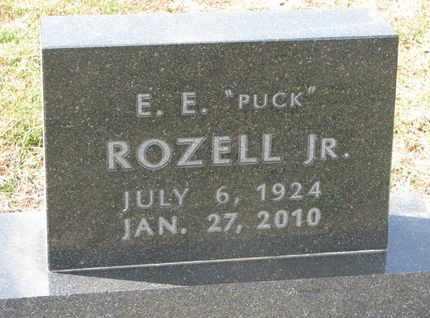 """ROZELL, E.E. JR. """"PUCK"""" - Union County, South Dakota   E.E. JR. """"PUCK"""" ROZELL - South Dakota Gravestone Photos"""