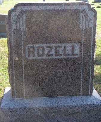 ROZELL, FAMILY STONE - Union County, South Dakota | FAMILY STONE ROZELL - South Dakota Gravestone Photos
