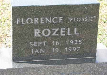 """ROZELL, FLORENCE """"FLOSSIE"""" - Union County, South Dakota 