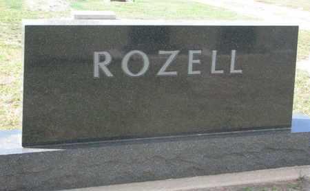 ROZELL, FAMILY STONE - Union County, South Dakota   FAMILY STONE ROZELL - South Dakota Gravestone Photos