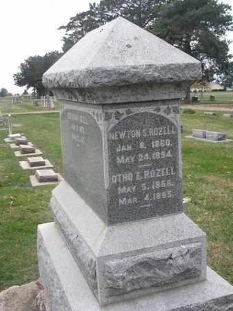 ROZELL, OTHO E. - Union County, South Dakota | OTHO E. ROZELL - South Dakota Gravestone Photos