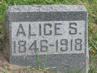 RUST, ALICE S. - Union County, South Dakota | ALICE S. RUST - South Dakota Gravestone Photos