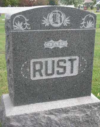 RUST, FAMILY STONE - Union County, South Dakota | FAMILY STONE RUST - South Dakota Gravestone Photos