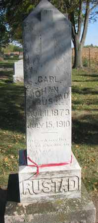RUSTAD, CARL JOHAN - Union County, South Dakota | CARL JOHAN RUSTAD - South Dakota Gravestone Photos