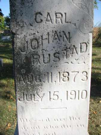 RUSTAD, CARL J. (CLOSEUP) - Union County, South Dakota | CARL J. (CLOSEUP) RUSTAD - South Dakota Gravestone Photos